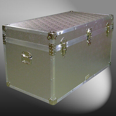 AE Aluminium Storage/Shipping/Travel/Luggage/Furniture/School Trunks/Chest/Case