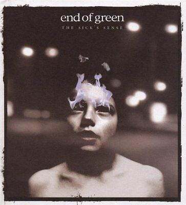 END OF GREEN The Sick's Sense 2LP WHITE VINYL 2008 LTD.999