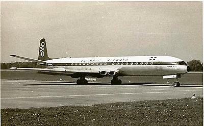 Small Photograph A  De Havilland Comet Of Greek Airline Olympic Airways