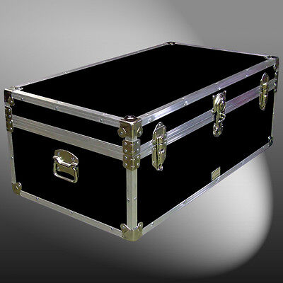 "36"" Storage Box/luggage Boarding School University Travel Shipping Trunk Chest"