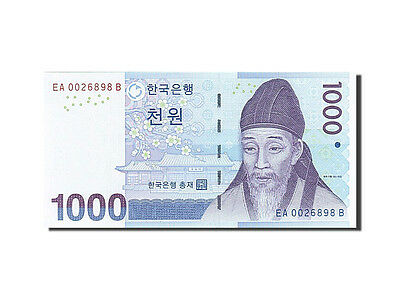 [#259327] South Korea, 1000 Won, 2007, KM #54a, UNC(65-70), EA 0026898 B
