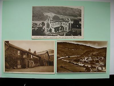 TINTERN, Monmouthshire - 3 old postcards