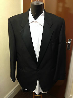 Mens Black Tuxedo Jacket, Various Sizes Available, Formal Wear Etc (002)