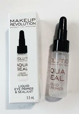 MAKEUP REVOLUTION AQUA SEAL Liquid EYE PRIMER & EYESHADOW SEALANT FIX WATERPROOF