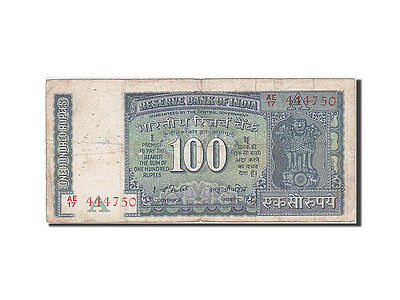 [#260469] India, 100 Rupees, 1978, Undated, KM:64d, VF(20-25)