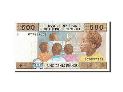 [#259914] Central African States, 500 Francs, 2002, KM #506F, UNC(65-70), F
