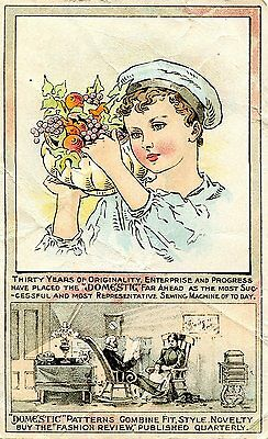 Victorian Trade Cards-3,2 Trade Cards,Sewing Machine.Parker's Ginger Tonic,Chels