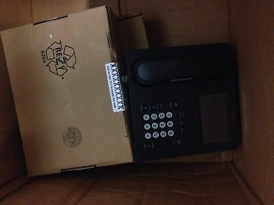 Lot of 3 Avaya 9641G Business Phones w/ Touch Display