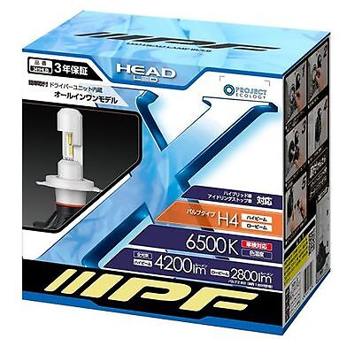 IPF H4 LED head lamp bulb 6500 K 341HLB New from Japan FreeShipping w/Tracking#