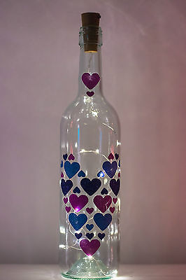 Florabundins Bottle Light Lamp Cork LEDs Fairy Lights Wedding Decor Valentines