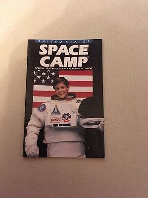 Vintage United States Space Camp Official 1990 Application