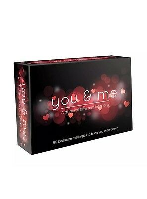 You & Me Couples Intimate Card Game You And Me, Love, Adult, Erotic, Ann Summers