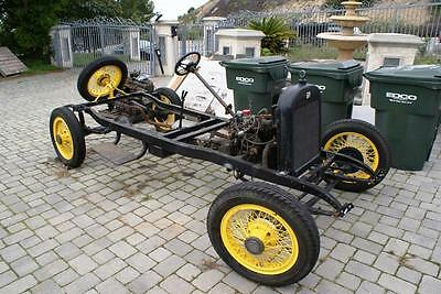 1922 Dodge Other  1922 - 1923 ROLLING CHASSIS NO TITLE DODGE W/ENGINE TRANS WIRE WHEELS RAT ROD