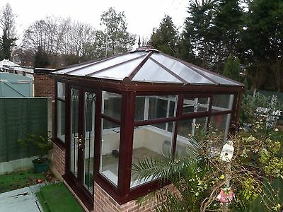 Used Rosewood Upvc Freestanding Conservatory