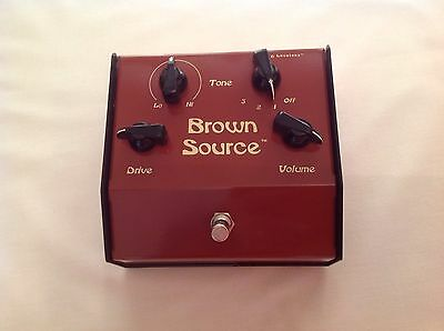 Lovetone Brown Source Effects Pedal