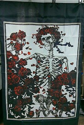 Grateful Dead inspired Bertha Steal your Flag American Roses 3X5ft company