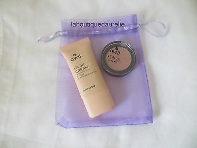 Lot maquillage bio Avril : une BB crème + un blush rose nacré