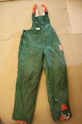 Cut-protection trousers Novotex Size 54 Safety clothing Forst chainsaw EN 381