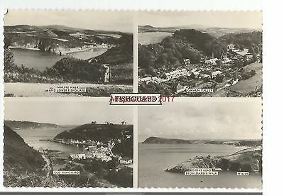 Wales Fishguard Multiview Real Photo Vintage Postcard 19.1