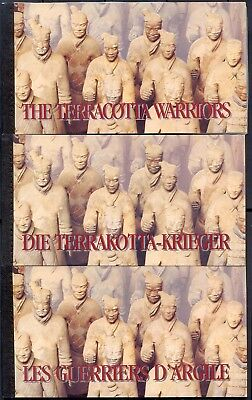 United Nations UN 3 China Terracotta Warriors Booklets MNH XF