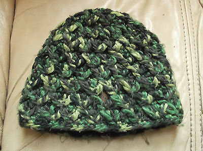 Green Winter Woolly Hat