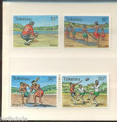 Tokelau Cricket + Rugby Mint Set Of Four Sg69/72   A74