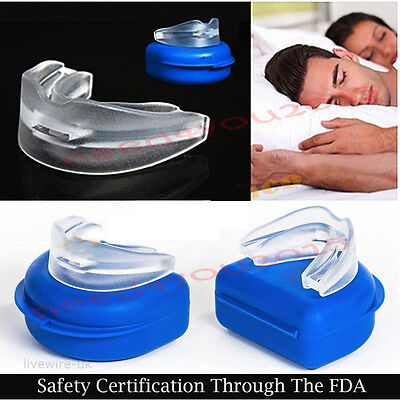 1*Anti Snore Stop Snoring Easy Breathe Better Easy Good Night Sleep Mouth Guard