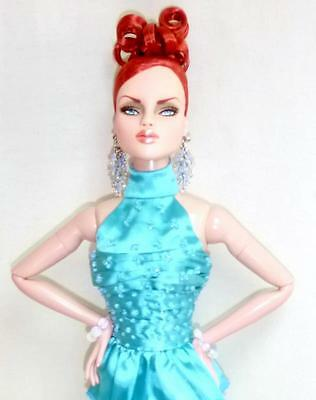 "2014 MDCC Horsman Urban Vita Mesmerizing Ysla 16"" Doll Turquoise Joe Tai Fashion"