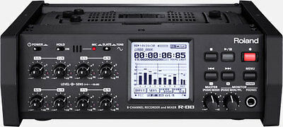 Roland R-88 Portable 8-Channel Recorder and Mixer