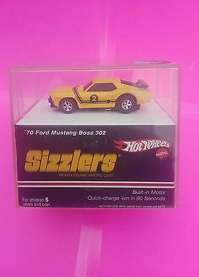 HOT WHEELS SIZZLERS redline TARGET mustang *UNRELEASED RARE brite yellow COLOR*