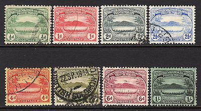British Solomon Islands 1908 Set to 1s SG8-14 Used