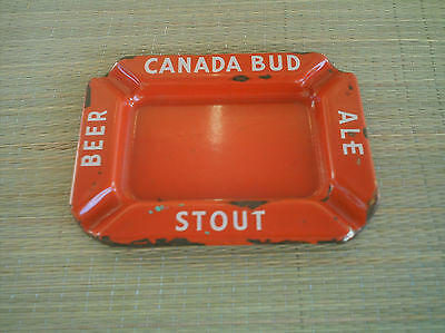 """Canada Bud"" Beer, Stout, Ale Ashtray"