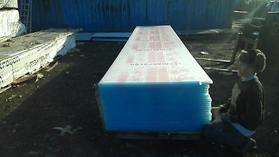 new polycarbonate roofing sheets opel white 6 meter x 1.230 meter x 25mm