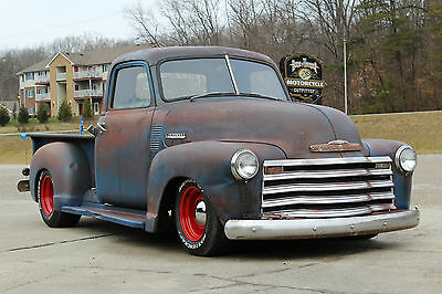 1949 Chevrolet Other Pickups 3100 standard 1949 CHEVROLET 3100 PICKUP, RAT ROD, RESTO MOD,NOT BAGGED, AIR RIDE, STREET ROD