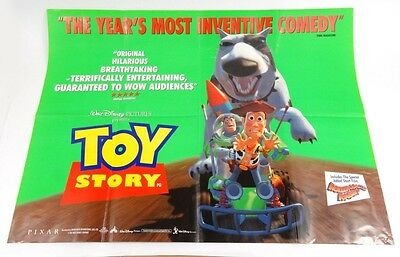 Original Toy Story Cinema Quad Poster Childrens Disney Pixar