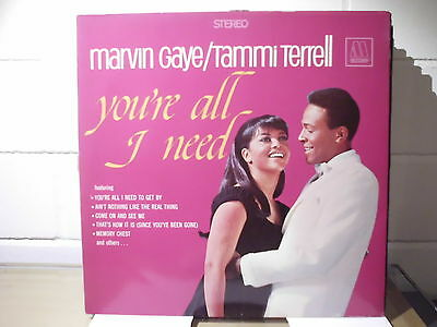 Marvin Gaye Tammi Terrell:you're All I Need Lp Motown