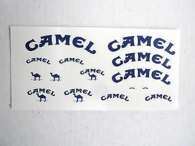 Camel Tabak Tabacco Decals Benetton B192 M. Schumacher M. Brundle Msc 1992 1/18