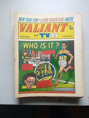 Valiant Comics 20 Issues From 1972