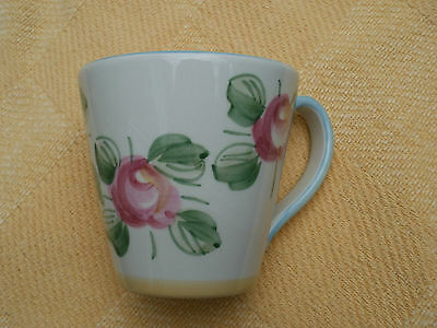 Colourful Laura Ashley Large Mug - Annesley Pattern - Pink / Yellow Roses