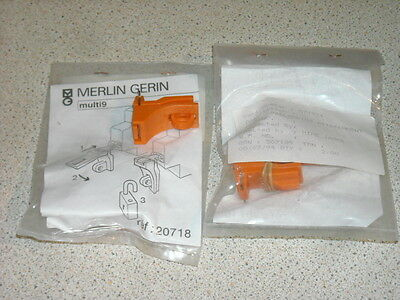 Merlin Gerin multi 9 mcb circuit breaker K015D 20718 lock 5 off