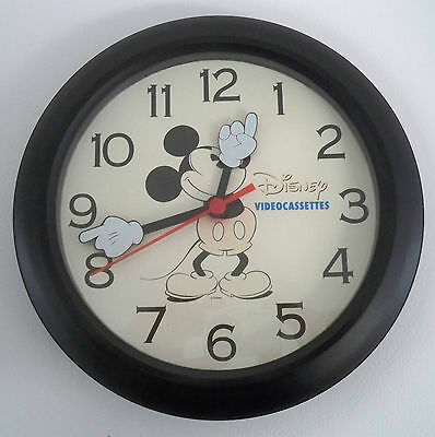 Disney Mickey Mouse Promotional Clock Videocassettes USED VHS Studio Promo