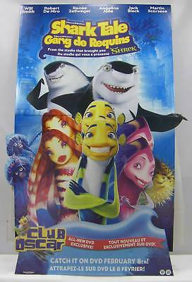 Studio Promotional Video Store Standee Shark Tale Dreamworks Home
