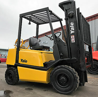 Yale Pneumatic Glp050 5000Lb Forklift Lift Truck