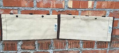 Vintage The Colorado Tent Company 1899 Denver Fishing Tackle Bag Pouch Wall Tent
