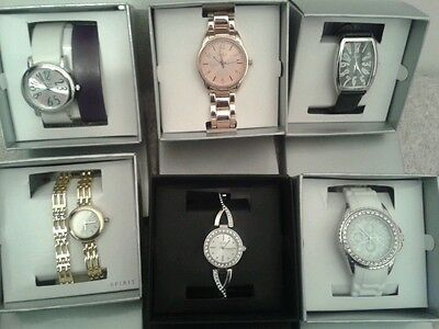 Job lot of 6 Ladies/ Girls SPIRIT Watches/ Jewellery/ Party Gift Sets Rrp £200