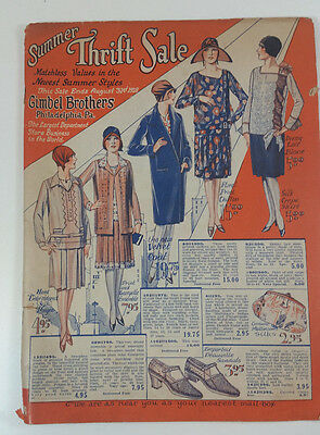 Vintage Gimbel Brothers Department Store 1928 Catalog Advertising  Philadelphia