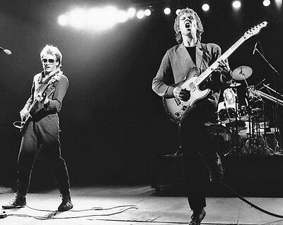 English Band THE POLICE Glossy 8x10 Photo Sting, Andy Summers & Stewart Copeland