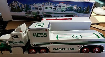 1995 HESS TRUCK and HELICOPTER.  UNOPENED MINT IN BOX