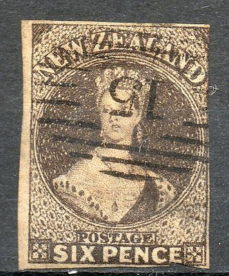 New Zealand Nouvelle Zélande Timbre n° 20 filigrane *