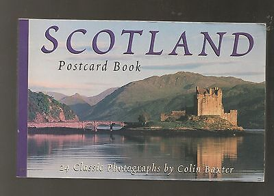Postcard Book Of Scotland, 24 Classic Photographs By Colin Baxter